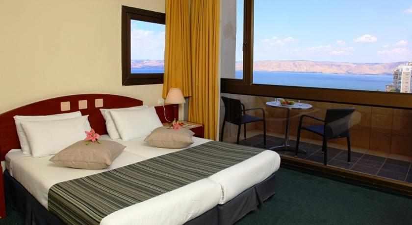 חדרים נוף לים מלון גולן טבריה
