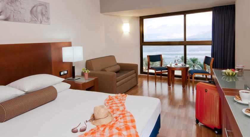 חדר זוגי מלון לאונרדו טבריה