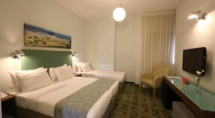 חדר במלון פרימה גליל טבריה