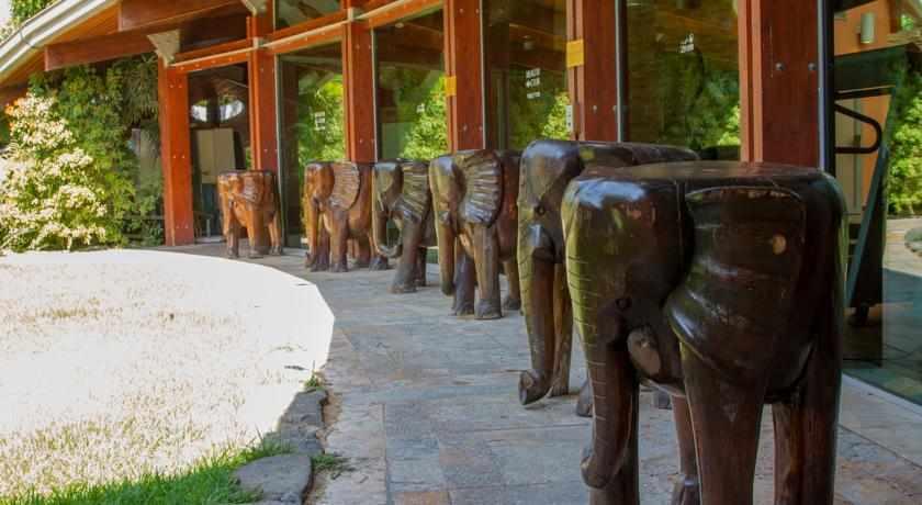 פסלים במלון ספא וילג' טבריה